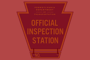 Picture of the Pennsylvania State Inspection Seal